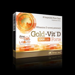 Picture of Gold Vit D 1000 Forte 30 capsule - Olimp