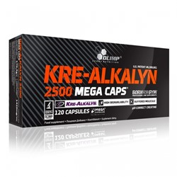 Picture of KRE-Alkalyn 2500 mega cap 120 caps