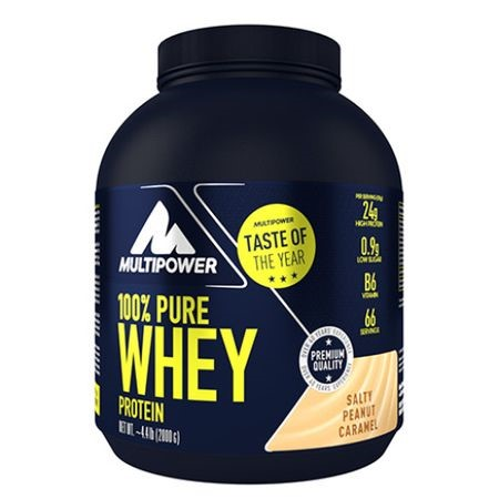 Picture of 100% Pure Whey Protein 2000g - Salty Peanut Caramel Multipower