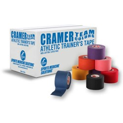 Picture of Athletic Tape Colorat - Cramer - 3.8cm Negru