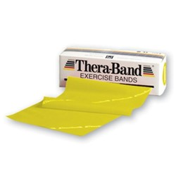 Picture of Banda elastica THERA-BAND® - Galbena