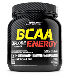 Picture of BCAA XPLODE ENERGY - 500g FRUIT PUNCH OLIMP