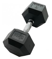 Picture of Gantera hexagonala 15kg - Dumbbell