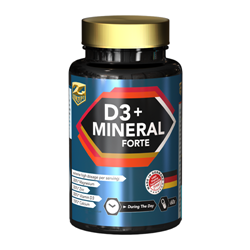 Picture of D3 + MINERALE FORTE - 60BUC